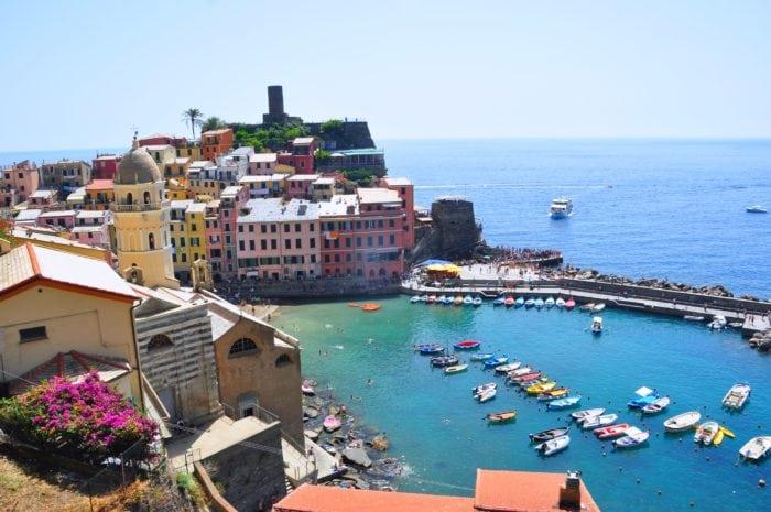 เที่ยวโรม หมู่บ้าน Cinque Terre 2