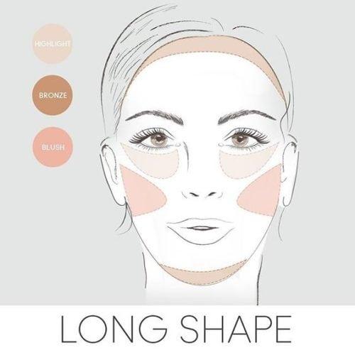 วิธีทำให้หน้าเรียว ใบหน้ายาว