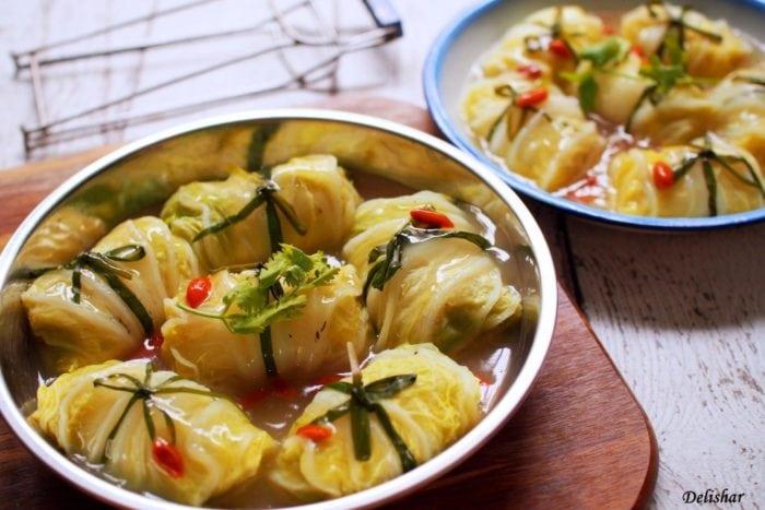 เมนูอร่อย โรลหมูผักกาดขาว ทำอาหาร สูตรอาหาร เมนูอาหารจานเดียว ทำอาหารง่ายๆ