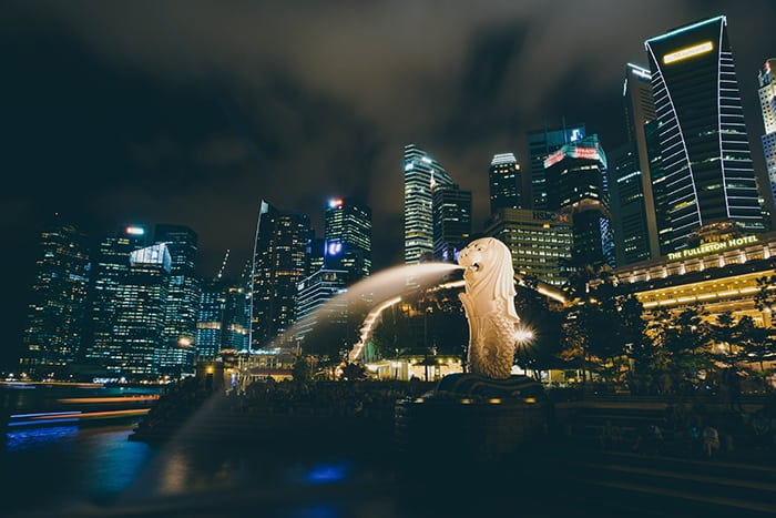 เที่ยวต่างประเทศแบบประหยัด Singapore