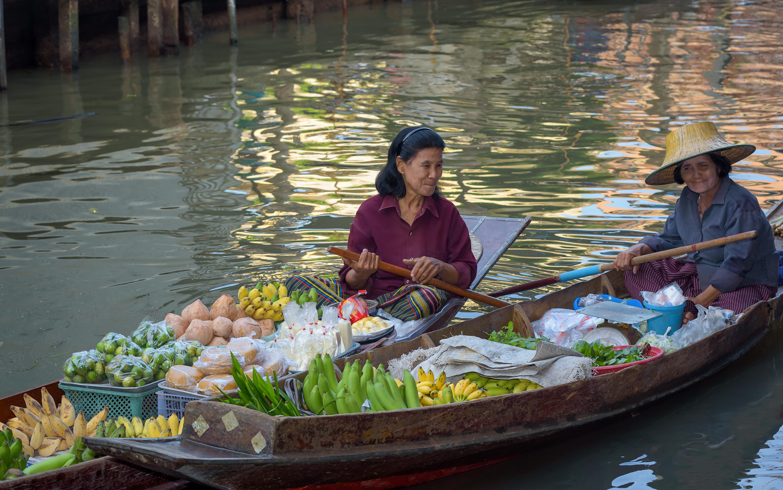 ตลาดน้ำ ตลาดน่าเที่ยว การท่องเที่ยวเชิงสุขภาพ เที่ยวตลาดน้ำ