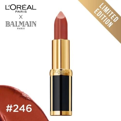 สีลิป L'Oréal Paris Color Riche X Balmain