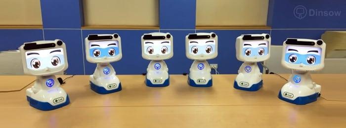 ระบบบริการสุขภาพ หุ่นยนต์ดูแลผู้สูงอายุ