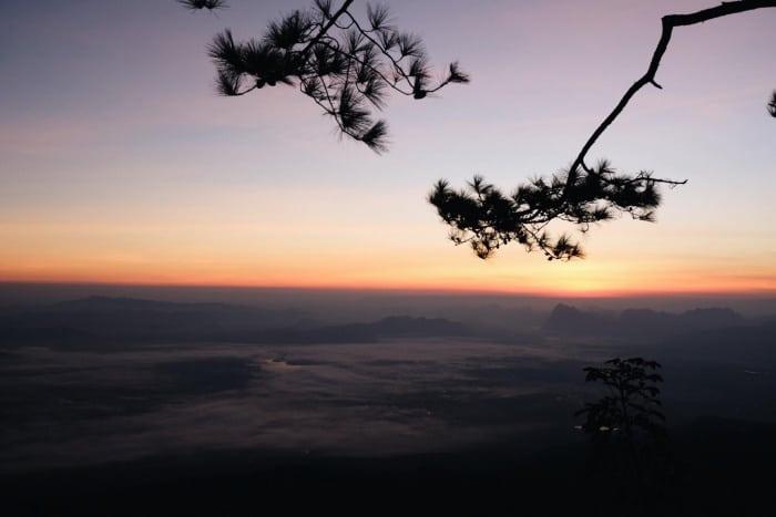 อุทยานแห่งชาติภูกระดึง ดูพระอาทิตย์ขึ้น2