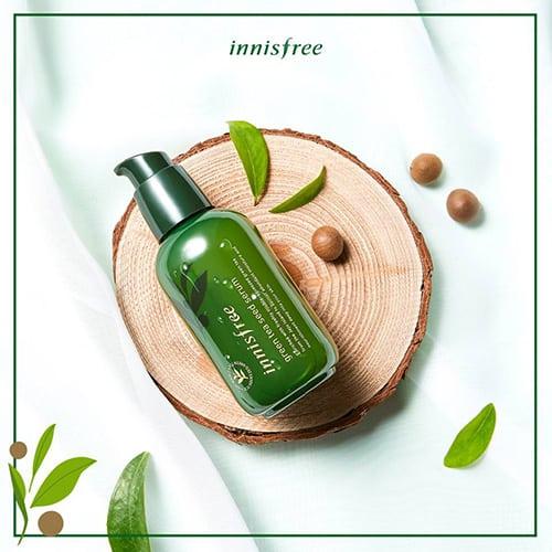 ผลิตภัณฑ์บำรุงผิวหน้า Innisfree Green Tea Seed Serum เครื่องสำอางค์ ครีมบำรุงผิวหน้า ผลิตภัณฑ์บำรุงผิวหน้า ครีมบำรุงผิวหน้าก่อนนอน