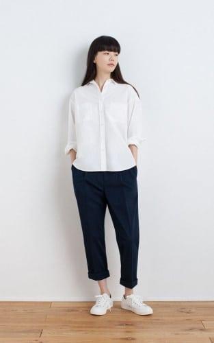 แบบเสื้อทำงานผู้หญิง กางเกงขายาว
