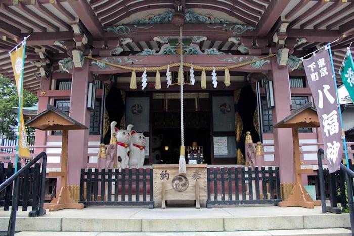 เที่ยวโตเกียวด้วยตัวเอง Imado Shrine 1