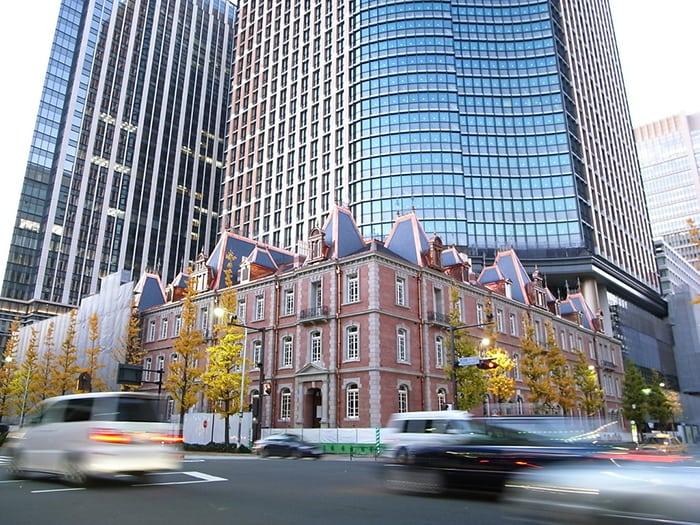 เที่ยวโตเกียวด้วยตัวเอง marunouchi
