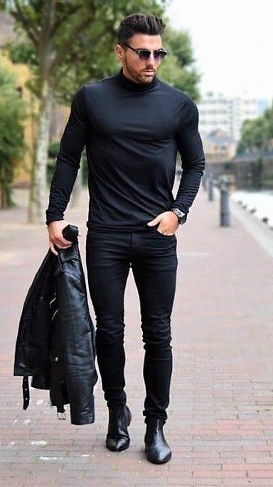 เสื้อยืดแขนยาวผู้ชาย แฟชั่นหน้าหนาว แฟชั่นผู้ชาย เสื้อแขนยาวผู้ชาย