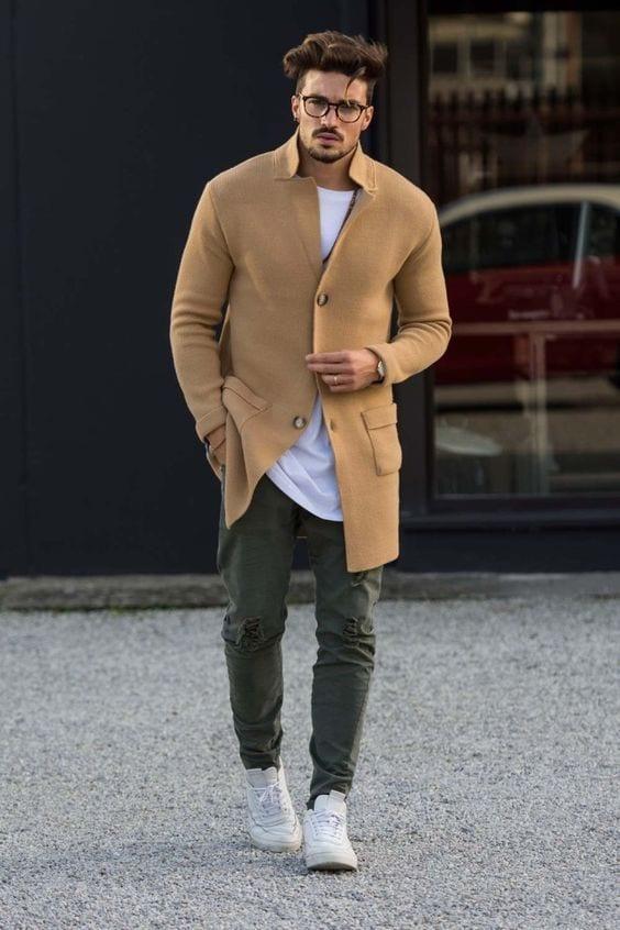 สีเอิร์ธโทน เสื้อผ้าผู้ชาย แฟชั่นเสื้อผ้า เทรนด์สี 2019