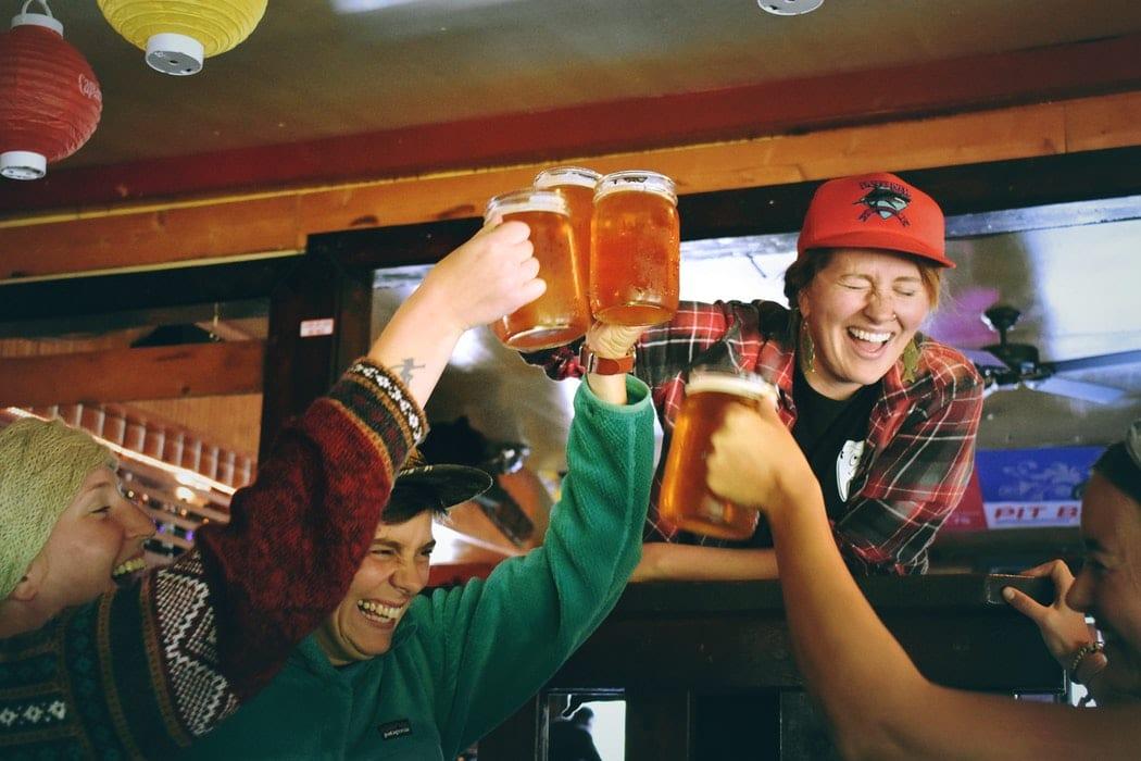 ลานเบียร์ ปาร์ตี้ เค้าท์ดาวน์ ร้านเบียร์