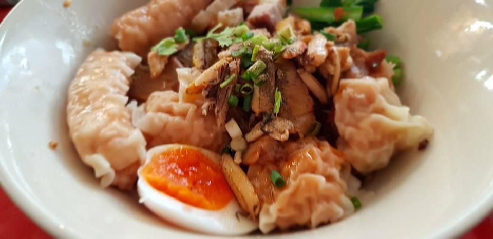 เกี๊ยวน้ำ อาหารมงคลตรุษจีน อาหารวันตรุษจีน บะหมี่เกี๊ยว