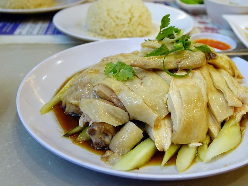 ข้าวมันไก่อร่อย อาหารอร่อย ข้าวมันไก่ประตูน้ำ ร้านข้าวมันไก่
