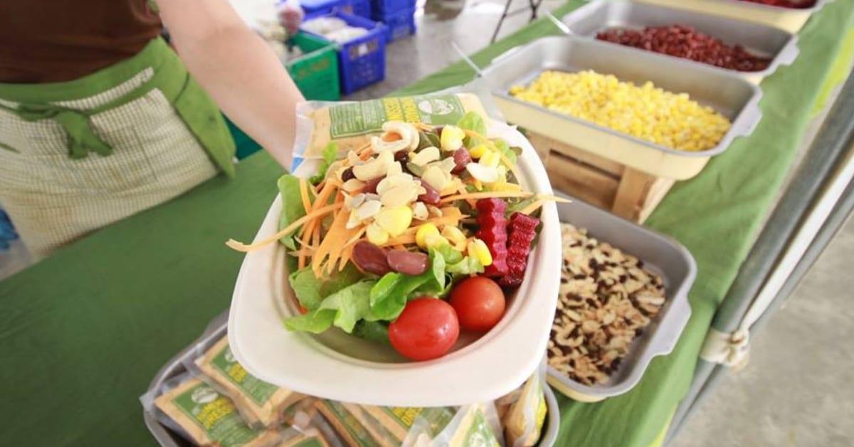 อาหารเพื่อสุขภาพ ผักสลัด ร้านอาหารเพื่อสุขภาพ ร้านสลัด
