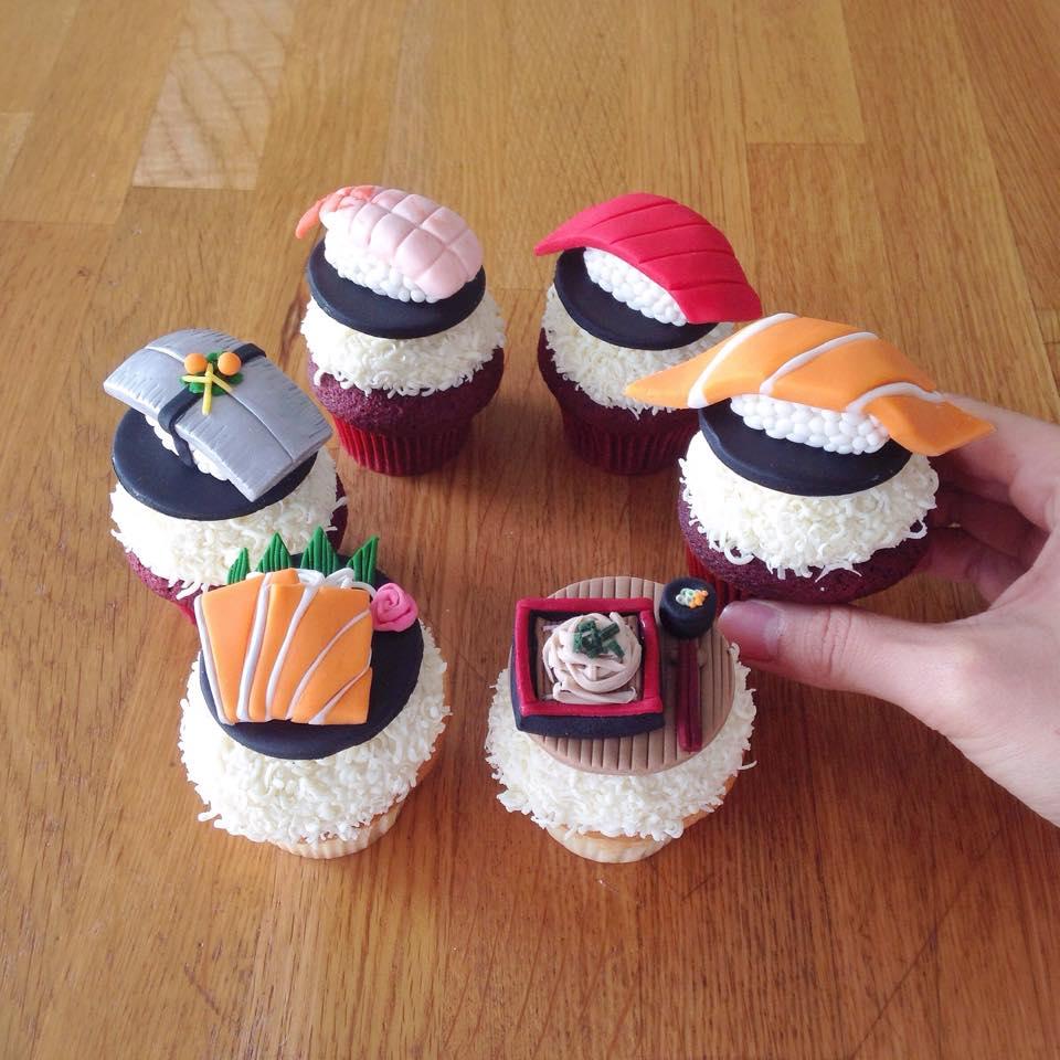 เค้ก คัพเค้ก เค้กการ์ตูน คัพเค้กการ์ตูน