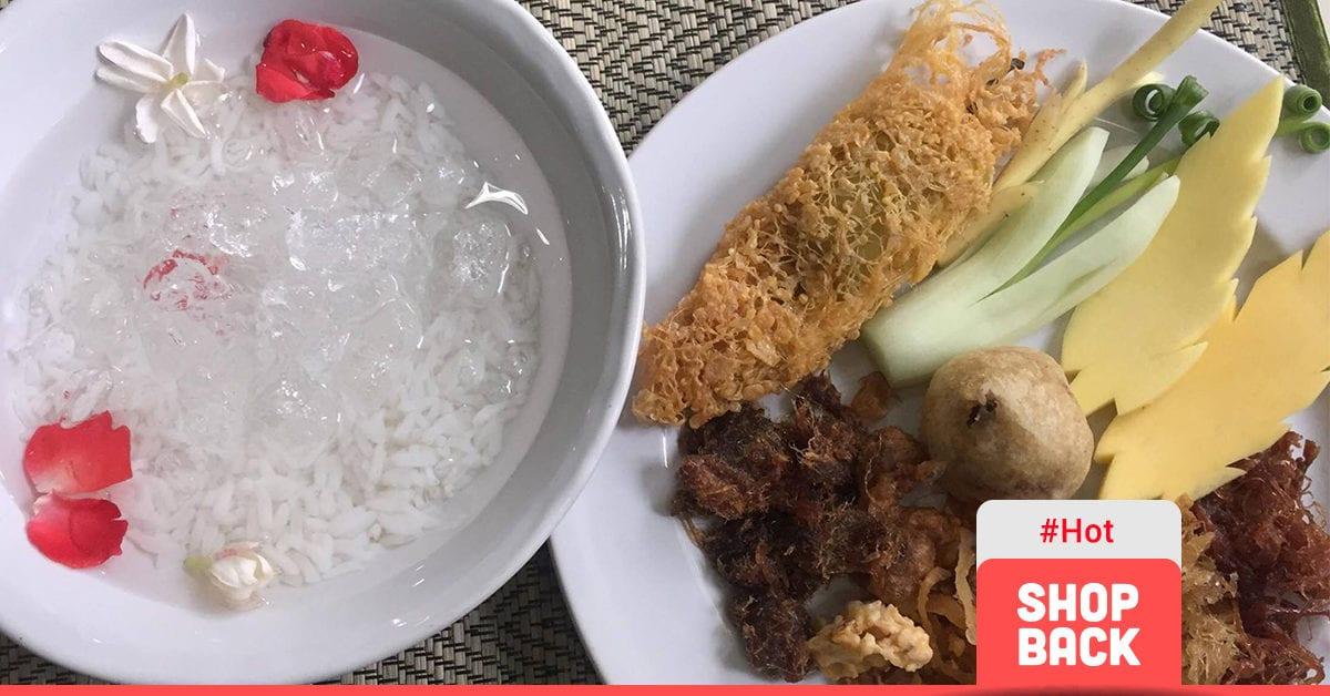 สุดยอดเมนูคลายร้อน! 5 ร้านข้าวแช่ กรุงเทพฯ อร่อยสุดในพระนคร
