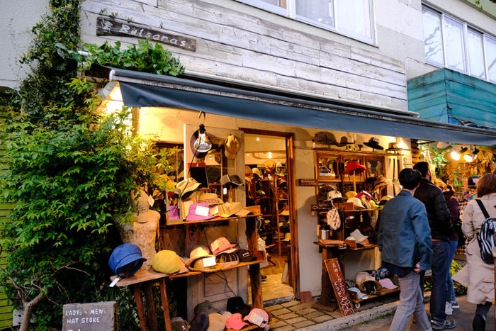 โตเกียว ที่เที่ยว ร้านหมวก