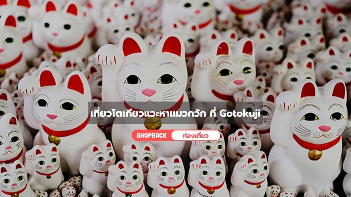 เที่ยวญี่ปุ่น : เที่ยวโตเกียวแวะหาแมวกวัก ที่ Gotokuji ศาลเจ้าต้นกำเนิดแมวกวัก♡