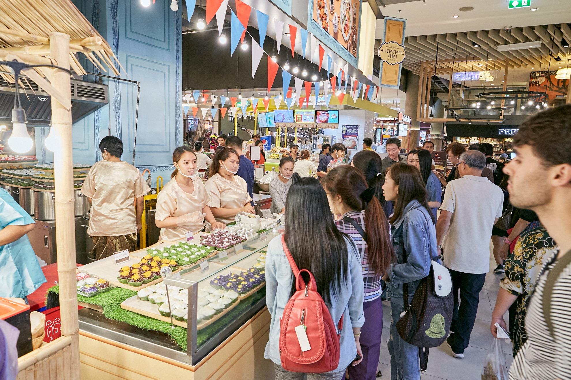 ร้านอาหารในกรุงเทพ ร้านอาหารแนะนำ ศูนย์อาหาร ฟู้ดคอร์ท