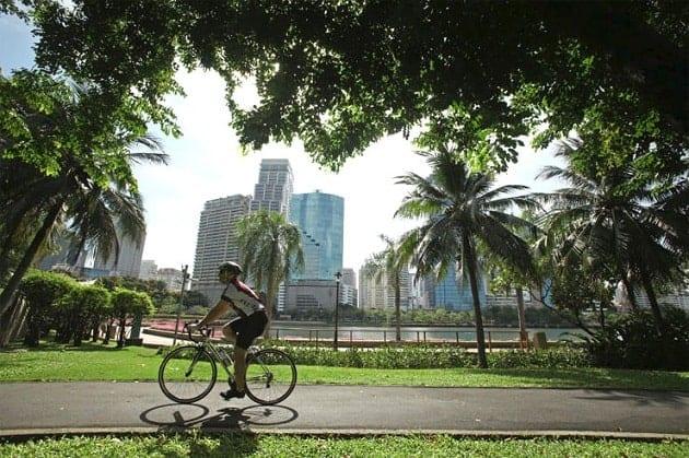 สนามปั่นจักรยาน, สถานที่ปั่นจักรยาน