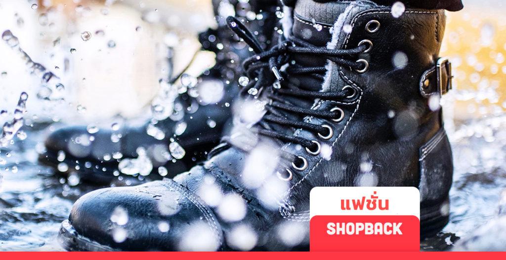 ฤดูฝน แฟชั่นหน้าฝน รองเท้ากันฝน รองเท้ากันน้ำ