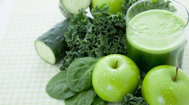 น้ำผักผลไม้สกัดเย็น, สูตรน้ำสกัดเย็น