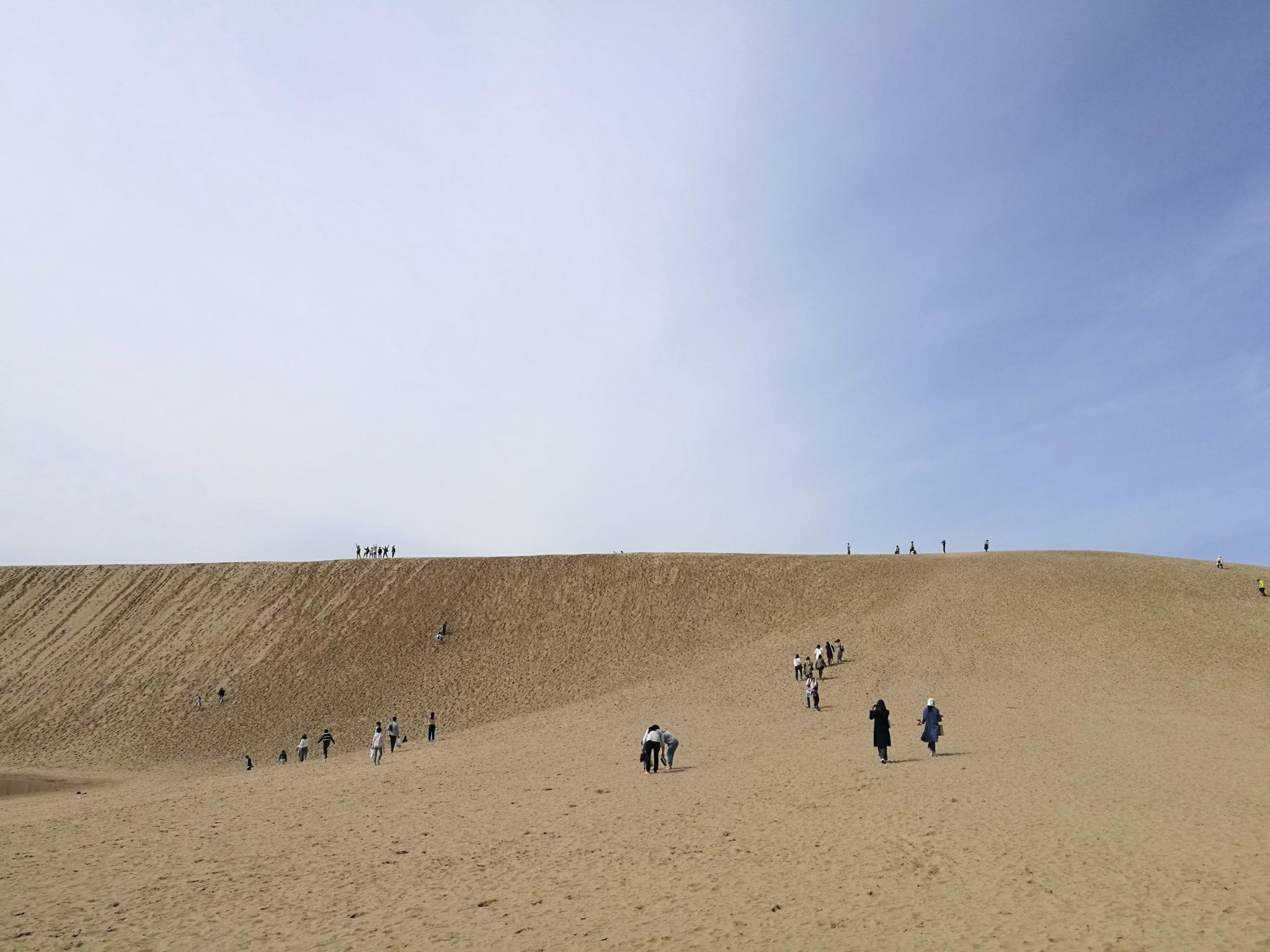 ไปเที่ยวญี่ปุ่น, คิโนซากิ ออนเซ็น, เที่ยวทตโตริ, ทะเลทรายญี่ปุ่น