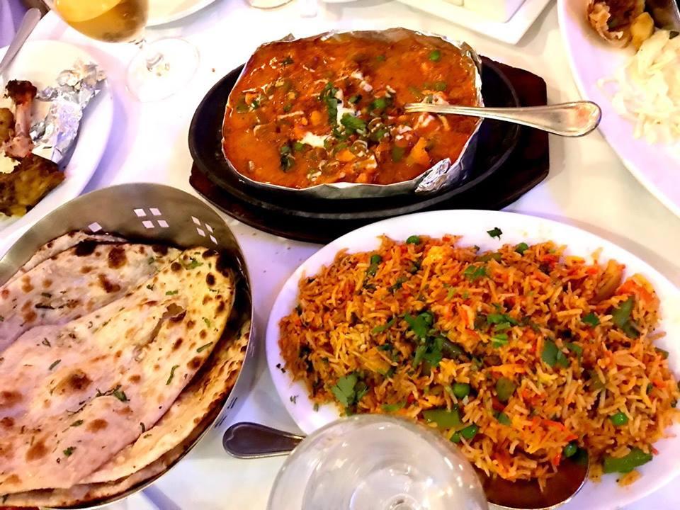 อาหารอินเดีย, อาหารแขก, อาหารอินเดียมีอะไรบ้าง, ร้านอาหารอินเดีย