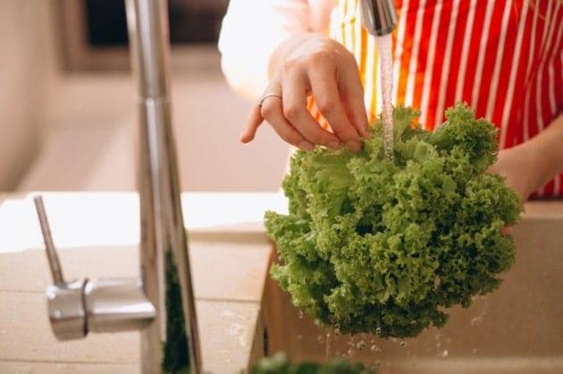 วิธีล้างผักให้สะอาด, ล้างผัก, การล้างผัก, วิธีล้างผัก