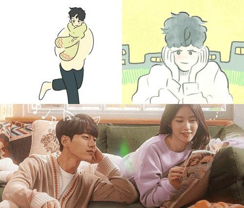 ซีรี่ย์เว็บตูน, อ่านเว็บตูนเกาหลี