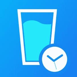 แอพกินน้ำ, ตารางการดื่มน้ำ