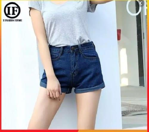 กางเกงขาสั้นยีนส์, กางเกงยีนส์ขาสั้นผู้หญิง