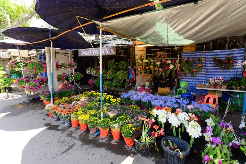 ร้านดอกไม้สด, ร้านดอกไม้ จตุจักร