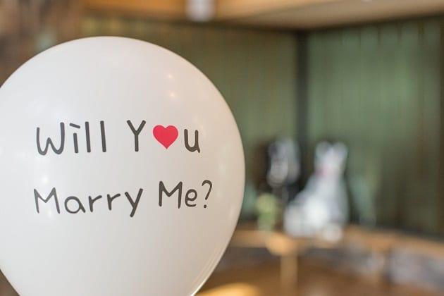 เซอร์ไพรส์ขอแต่งงาน, ขอแฟนแต่งงาน