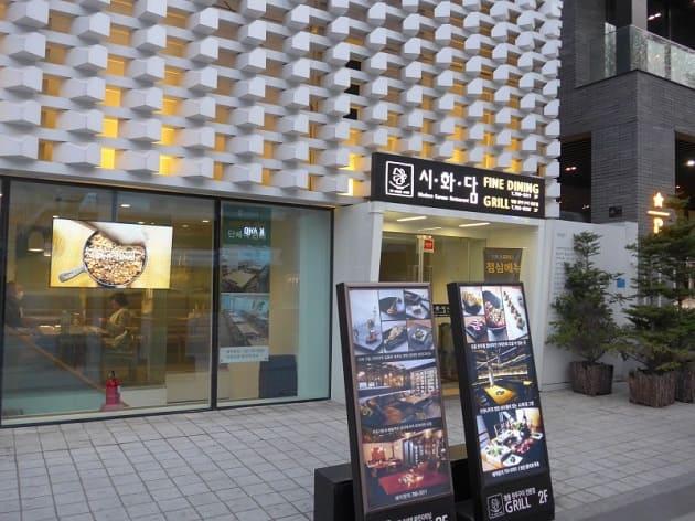 ร้านติ่งเกาหลี, อาหารเกาหลี โซล