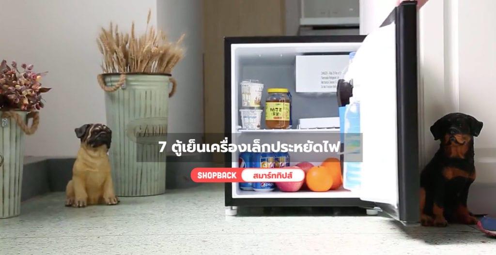 ตู้เย็นเครื่องเล็ก, ตู้เย็นเล็กประหยัดไฟ