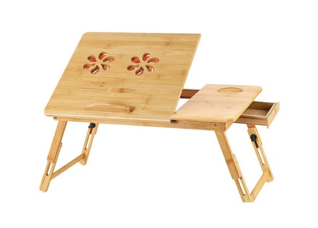 โต๊ะอ่านหนังสือพับได้, โต๊ะทำงานนั่งพื้น