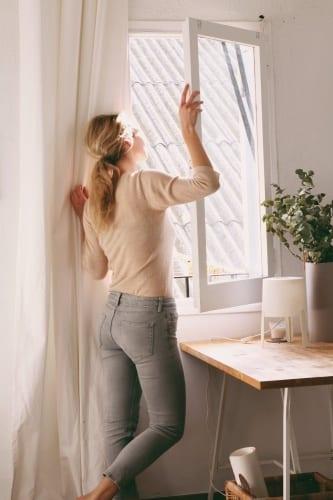 วิธีคลายร้อนในห้อง, ระบายความร้อนในบ้าน