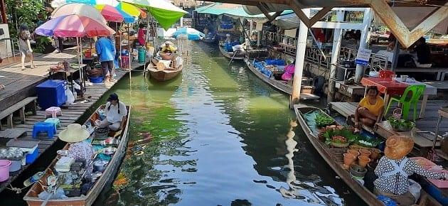 ตลาดน้ำในกรุงเทพ, กรุงเทพ ที่เที่ยว