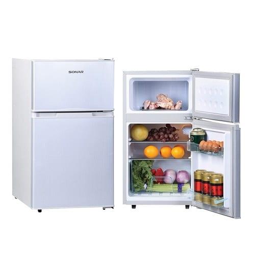 ตู้แช่เย็น 2 ประตู, ตู้เย็น 2 ประตู ขนาดเล็ก