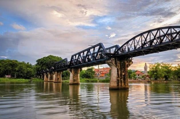 เที่ยวกาญจนบุรี รถไฟ ค้างคืน,ทริปกาญจนบุรี 3 วัน 2 คืน