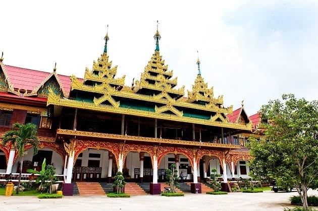 วัดสวยกาญจนบุรี,รีวิวที่เที่ยวกาญจนบุรี