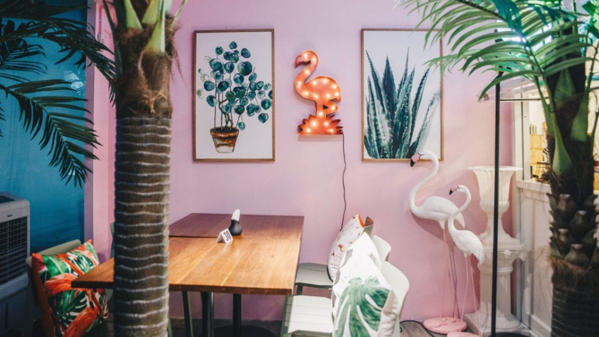 8 ที่สุดของร้านกาแฟสีชมพู ที่คนสายคิวท์ต้องตามไปเช็กอิน 2020