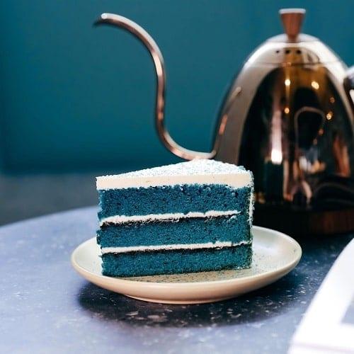 คาเฟ่สีฟ้า,กาแฟอร่อย