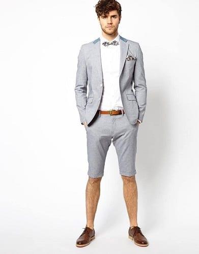 แต่งตัวกางเกงขาสั้นชาย, การแต่งตัวผู้ชายขาสั้น