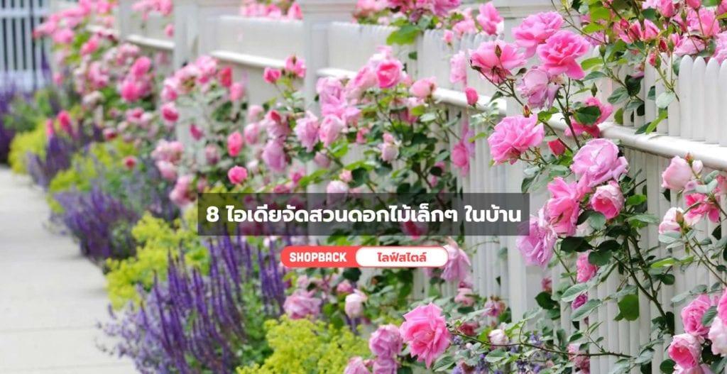 จัดสวนดอกไม้เล็กๆ, จัดสวนดอกไม้หน้าบ้านเล็กๆ
