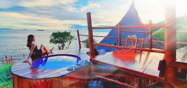 ที่พักบนเกาะสีชัง,โรงแรมเกาะสีชัง, เกาะสีชัง จังหวัด