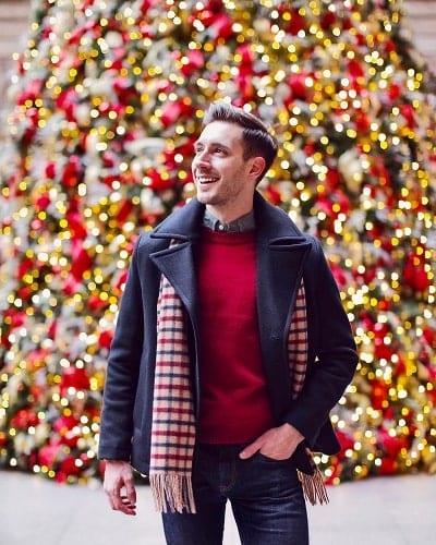 ไอเดียแต่งตัวคริสมาส, แต่งตัววันคริสมาส ผู้ชาย