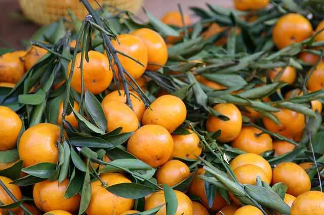 新加坡過年會交換橘子