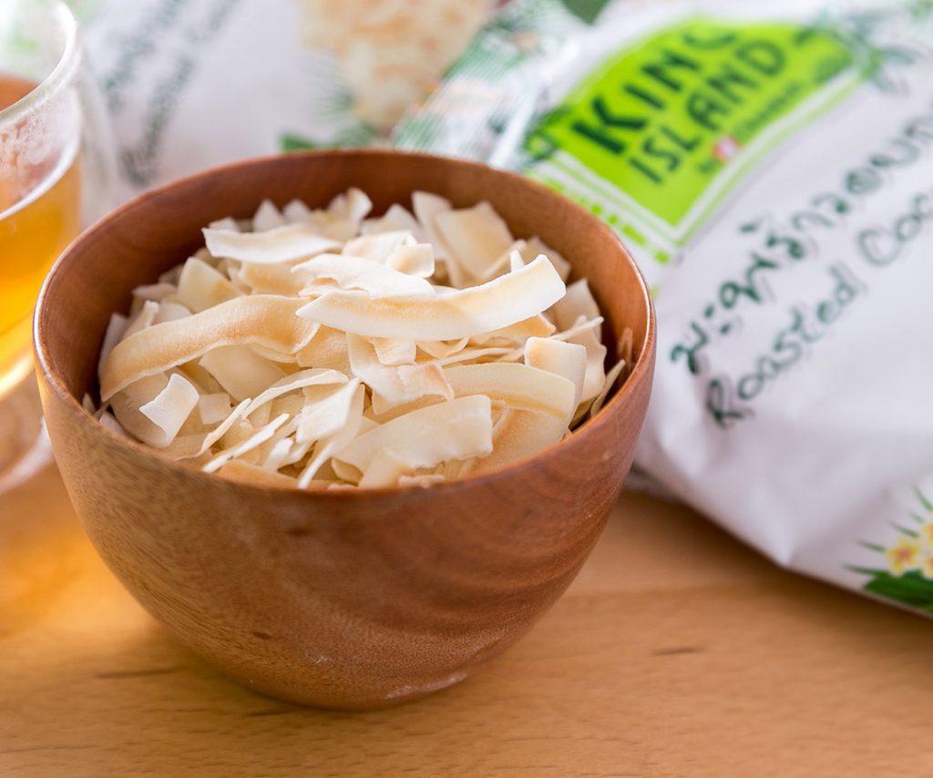 椰子脆片是現在最當紅的網購泰國零食